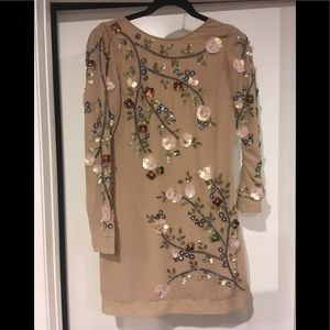 New With Tags Glamorous Nude Stone Ladies Dress